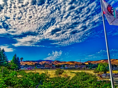 landscape clouds smartphone mtdiablo pittsburg california flag