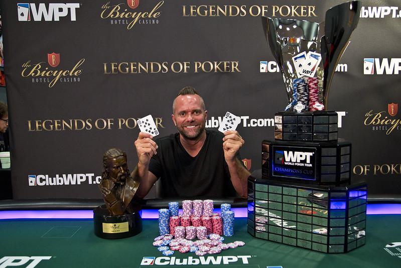 Season XVIII WPT Legends of Poker Champion Aaron Van Blarcum