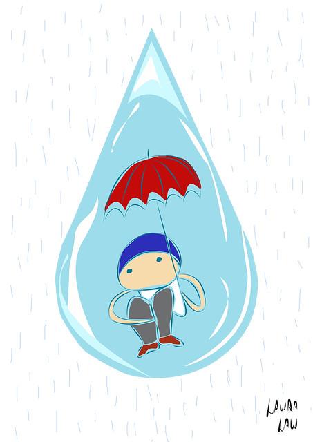 Umbrella Drop- Laura Cochrane 5