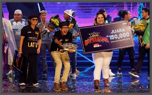 Tidur 2 Jam Sehari, Jborn Akhirnya Berjaya Jadi Juara Muzikal Lawak Superstar