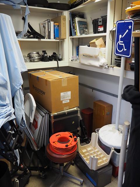 S8204800 SBAU store room at SBMNH