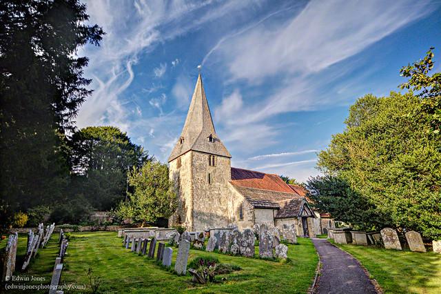 Bury Church South Downs