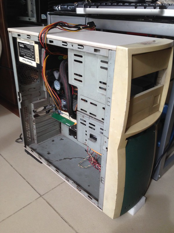 TipidPC com - Building SLEEPER PC (Ancient Chassis with