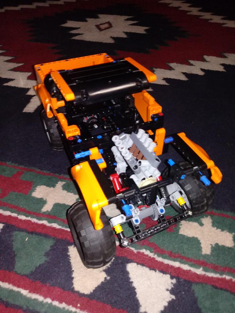 Lego technic 8081 MODS
