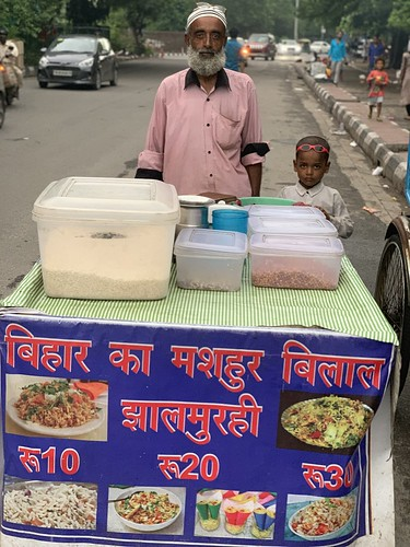 City Food - Muhammed Afroz's Bihari Jhaal Moori, Mathura Road