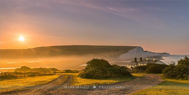 Sunrise in East Sussex - England