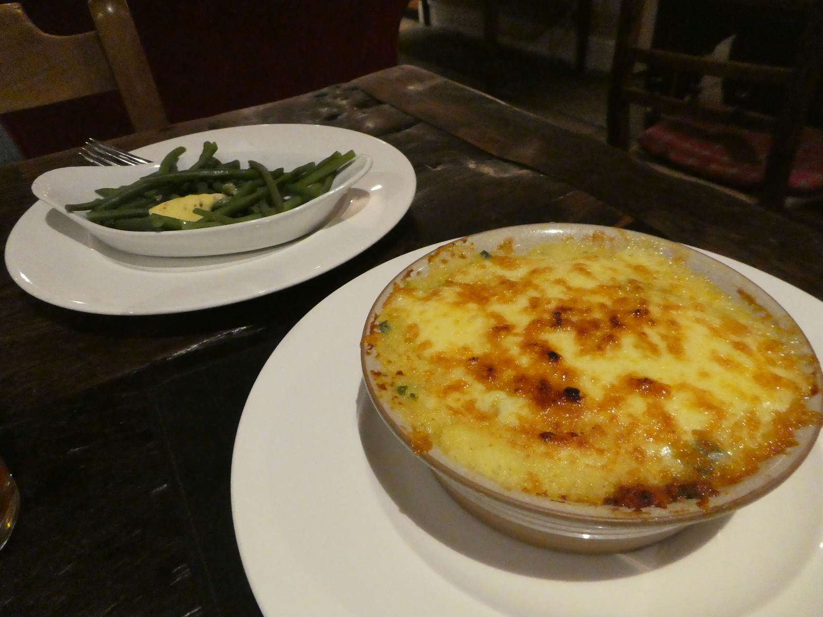 Signature Fish Pie, Inn at Whitewell
