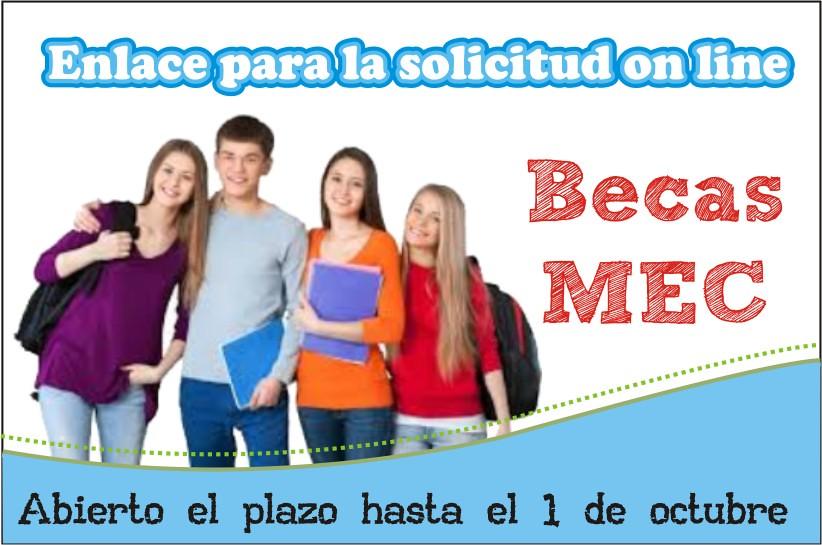 BECAS MINISTERIO EDUCACIÓN Y FORMACIÓN PROFESIONAL