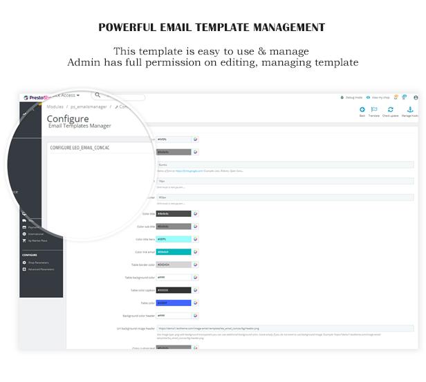 ap dove responsive prestashop email template 2019