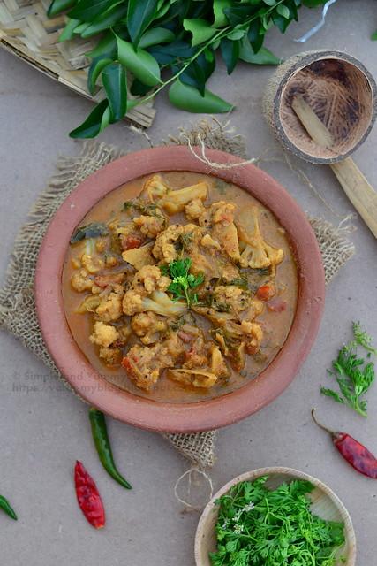 Kongunadu Style Cauliflower Gravy