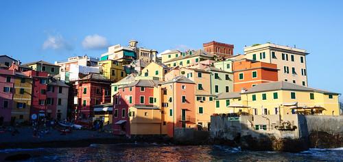 Genoa: Boccadasse