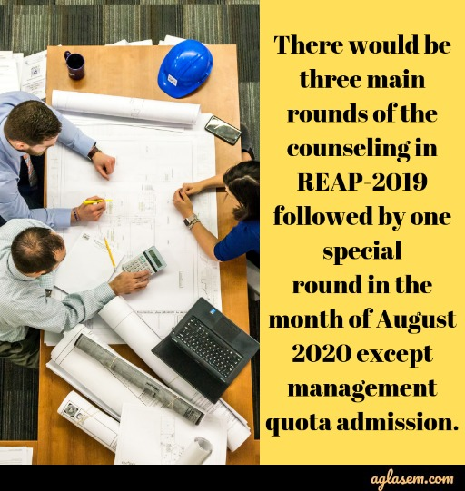 REAP 2020 - Notification (Out), Application Form, Dates