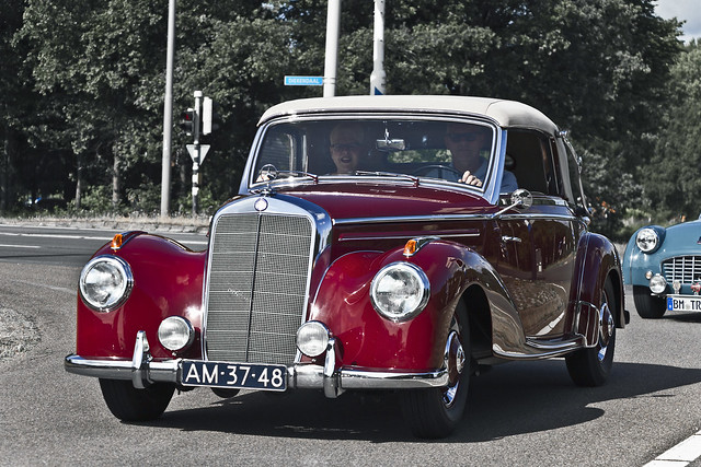 Mercedes-Benz 220 A Cabriolet 1952 (8716)