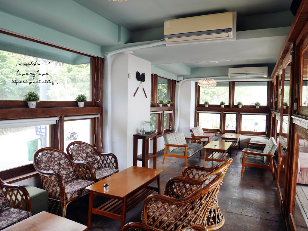 淡水紅毛城附近景觀餐廳下午茶Ancre cafe安克黑咖啡廳 (2)