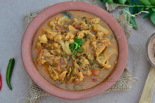 Kongunadu Style Cauliflower kuzhambu