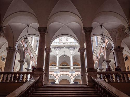 Genoa: Palazzo Tursi, Via Garibaldi