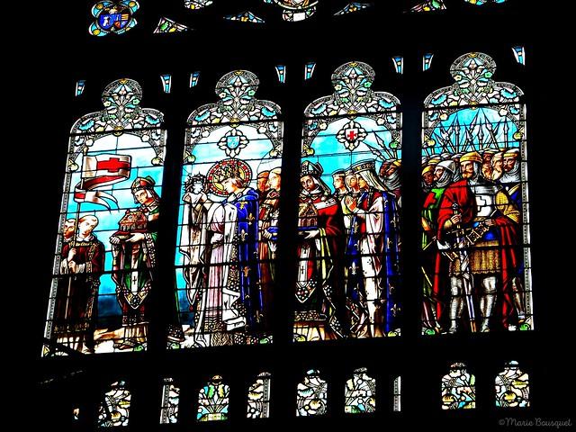 Vitrail de l'église Saint-Louis des Chartrons - Explore 6/09/2019