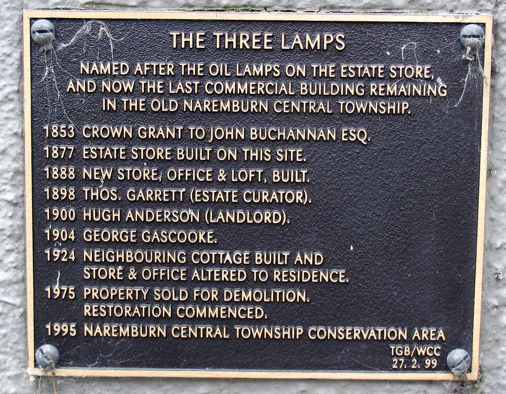 The Three Lamps, Naremburn, Sydney, NSW.