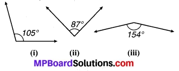 MP Board Class 7th Maths Solutions Chapter 5 रेखा एवं कोण Ex 5.1 2