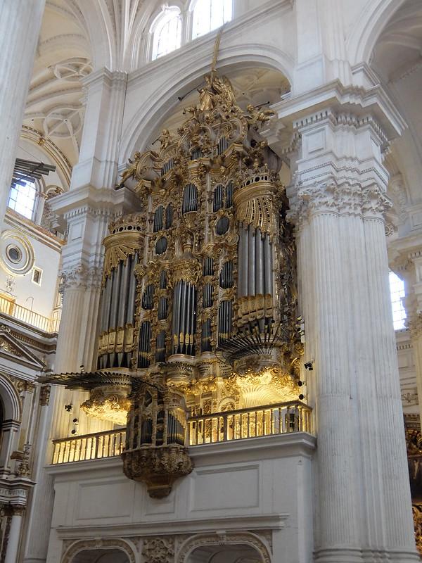 Гранада - Кафедральный собор - Орган