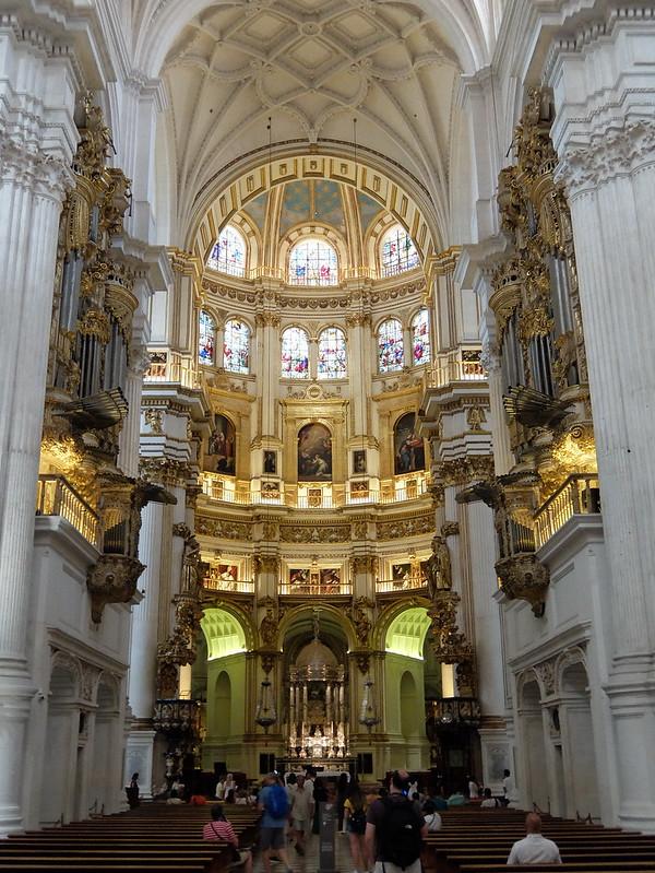 Гранада - Внутри кафедрального собора