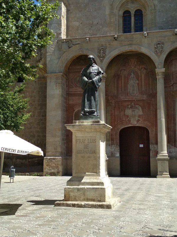 Гранада - Памятник Луису де Гранада