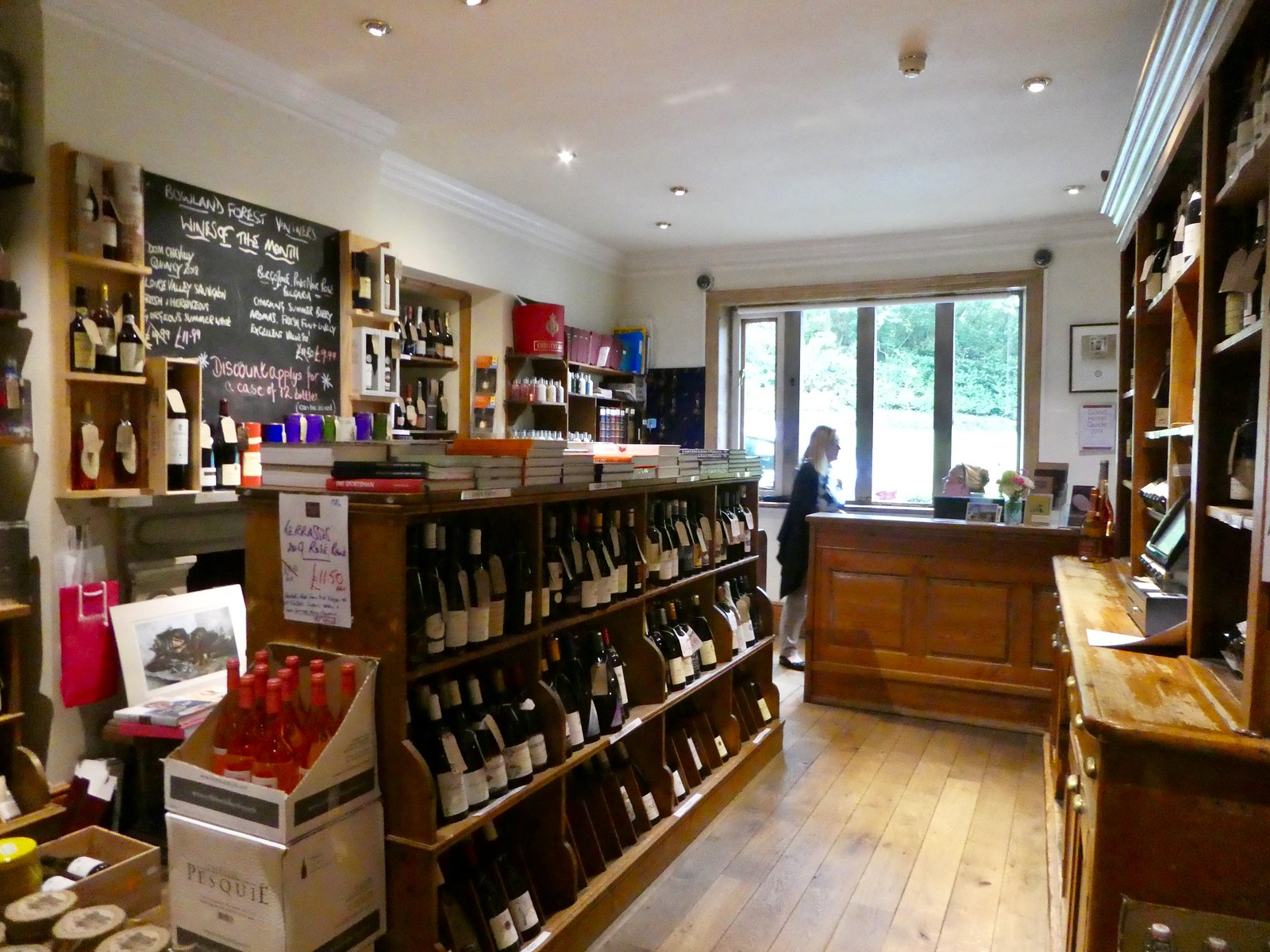 Bowland Forest Vintners Wine Shop, Inn at Whitewell, Clitheroe
