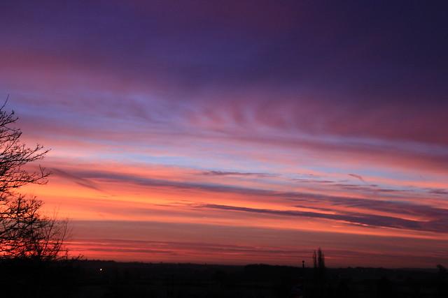 Seckington Dawn, UK.