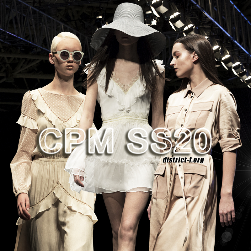 DISTRICT F — Collection Première Moscow SS2020 — CPM Selected zxc