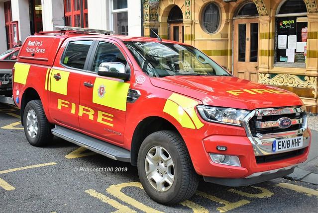 Kent Fire & Rescue Service Ford Ranger EK18 MHF