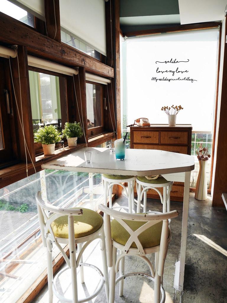 淡水老街附近景觀餐廳Ancre cafe安克黑咖啡館下午茶推薦 (1)