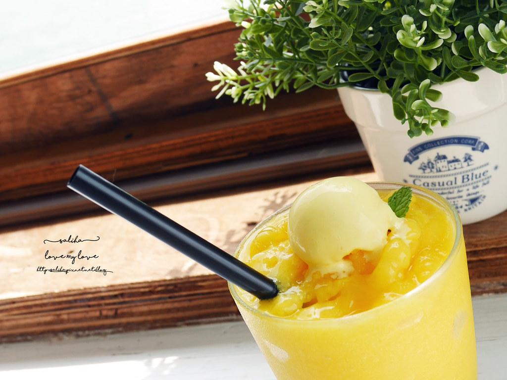 淡水老街附近一日遊景點餐廳推薦Ancre cafe安克黑咖啡下午茶 (1)