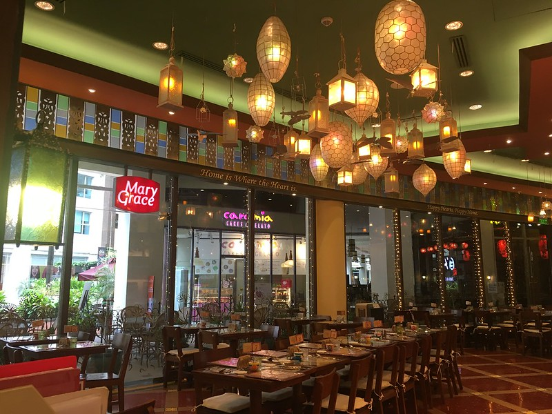Cafe Mary Grace, Eastwood Mall