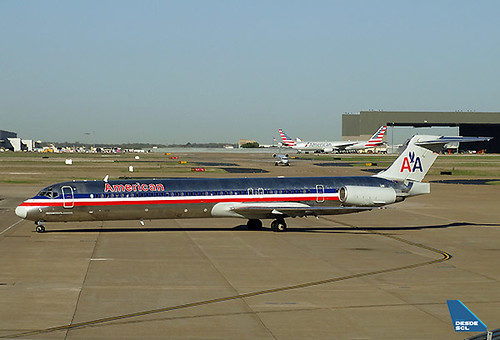 American Airlines MD80 DFW (RD)