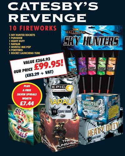 NEW FOR 2019 - Catesby's Revenge DIY Epic Fireworks Pack
