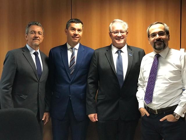 19.09 IIASA delegation visits Brazil