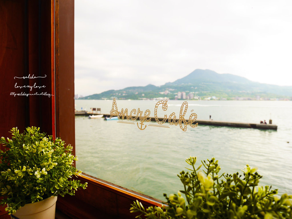 新北淡水一日遊行程推薦Ancre cafe安克黑咖啡館下午茶輕食看書 (3)
