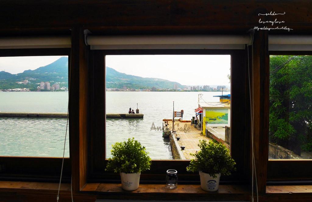淡水景觀餐廳推薦Ancre cafe安克黑咖啡廳下午茶 (3)