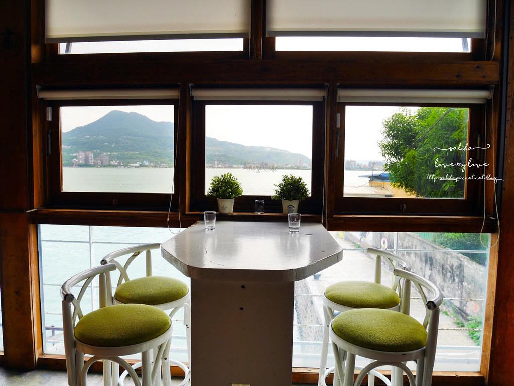 淡水景觀餐廳推薦Ancre cafe安克黑咖啡廳下午茶 (1)