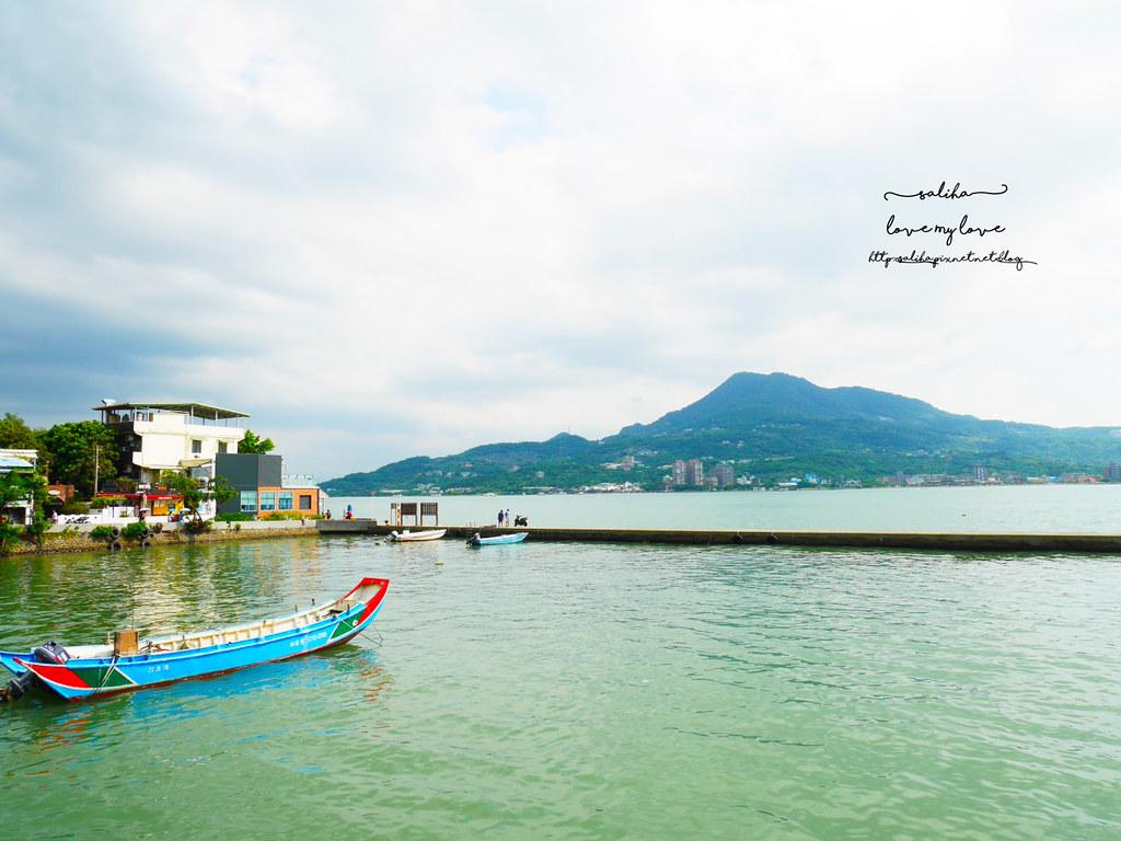 淡水景觀餐廳推薦Ancre cafe安克黑咖啡廳下午茶 (2)