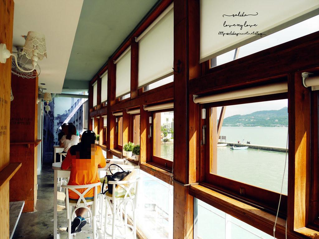 淡水河畔景觀咖啡廳Ancre cafe安克黑咖啡訂位限時 (1)