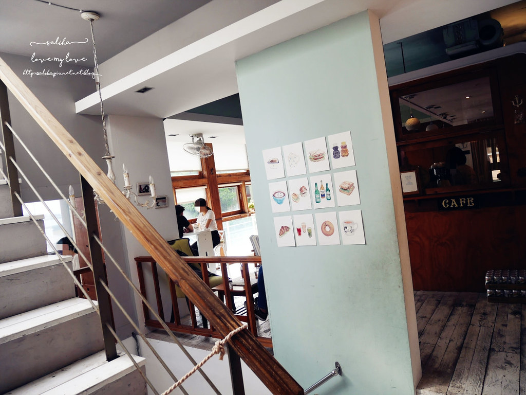 淡水老街附近一日遊景點餐廳推薦Ancre cafe安克黑咖啡下午茶 (2)