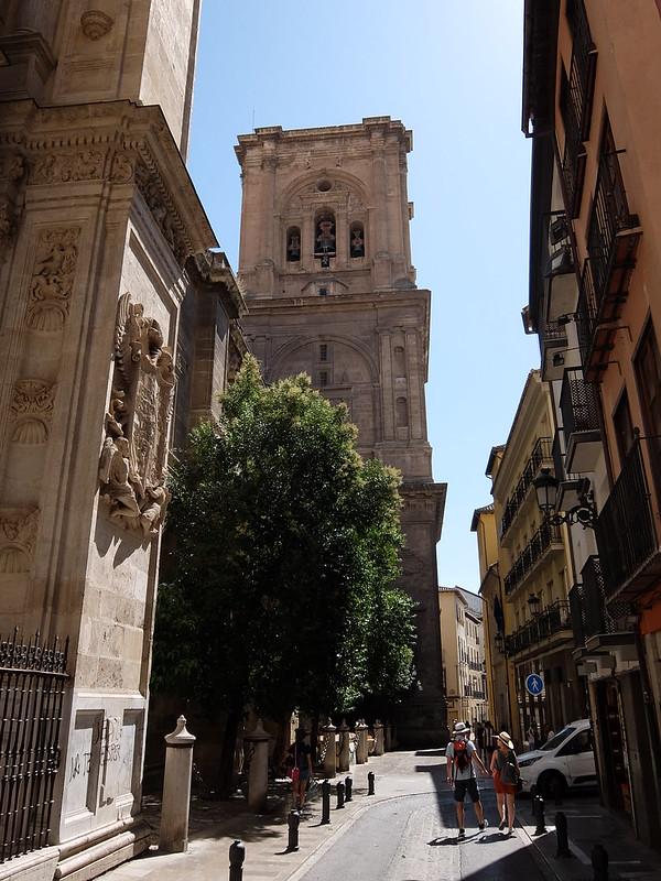 Гранада - Колокольня кафедрального собора