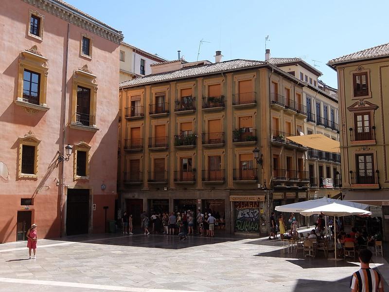 Гранада - Площадь перед собором