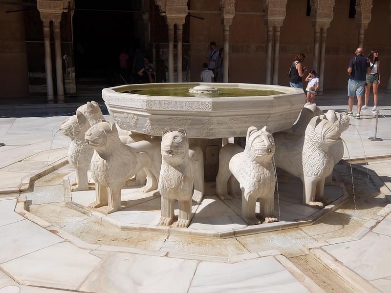 Альгамбра - Львы