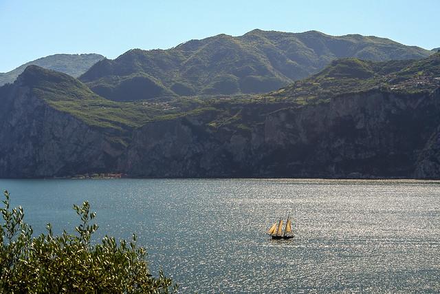 Sailing pleasure - Malcesine, Lake Garda, Italy