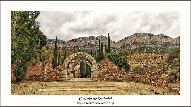 Ruinas de la Cartuja de Scaladei