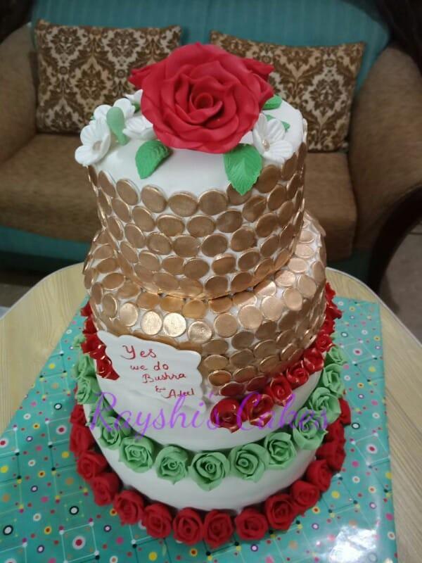Cake by Rayshi's Cakes
