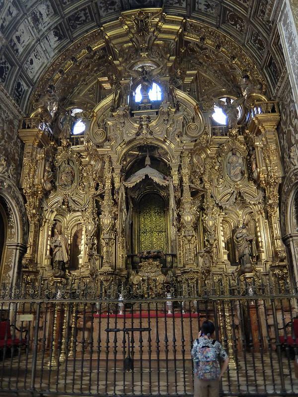 Гранада - Кафедральный собор - Капелла в золоте