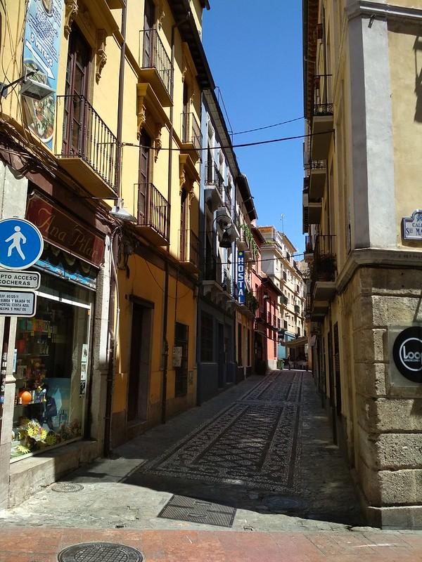 Гранада - Улица в центре